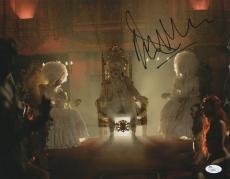 Malcolm McDowell Signed 11x14 Photo Rob Zombie 31 JSA COA Z3