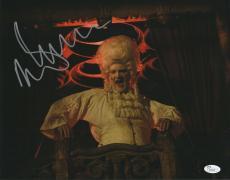Malcolm McDowell Signed 11x14 Photo Rob Zombie 31 JSA COA Z4