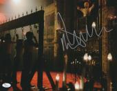Malcolm McDowell Signed 11x14 Photo Rob Zombie 31 JSA COA Z5