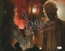 Malcolm McDowell Signed 11x14 Photo Rob Zombie 31 JSA COA Z9