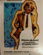Malcolm McDowell Signed Autographed 11x14 Photograph O Lucky Man JSA U16388