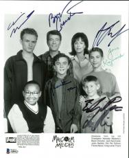 Malcolm In The Middle Signed Autographed 8x10 Photo Cranston Muniz Beckett BAS