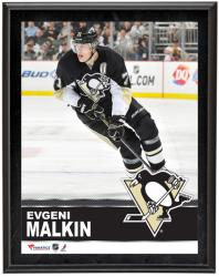 "Evgeni Malkin Pittsburgh Penguins Sublimated 10"" x 13"" Plaque"