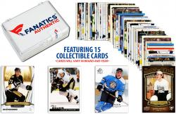 Evgeni Malkin Pittsburgh Penguins Collectible Lot of 15 NHL Trading Cards - Mounted Memories