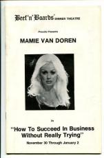 Mamie Van Doren How To Succeed In Business Without Really Trying Playbill