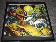 Man Thing Original Framed 1976 Marvel Bicentennial Poster 12x12
