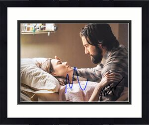 Mandy Moore and Milo Ventimiglia Signed - Autographed THIS IS US 8x10 inch Photo - Guaranteed to pass BAS