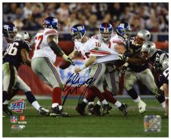 "Eli Manning New York Giants Super Bowl XLII Autographed 8"" x 10"" Photo"