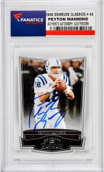 Peyton Manning Indianapolis Colts Autographed 2008 Donruss Classics #42 Card - Mounted Memories