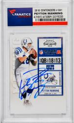 Peyton Manning Indianapolis Colts Autographed 2010 Contenders #41 Card