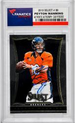 Peyton Manning Denver Broncos Autographed 2013 Select #38 Card