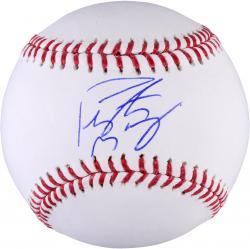 Peyton Manning  Denver Broncos Autographed Baseball