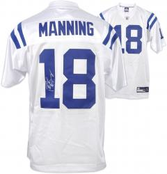 Peyton Manning Indianapolis Colts Autographed Reebok Authentic White Jersey