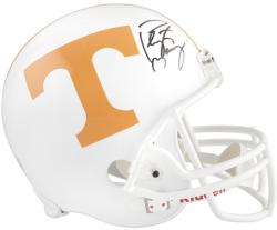 Peyton Manning Tennessee Volunteers Riddell Replica Helmet - Mounted Memories