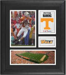 """Peyton Manning Tennessee Volunteers Framed 15"""" x 17"""" Collage"""