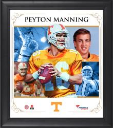 PEYTON MANNING FRAMED (TENNESSEE) CORE COMPOSITE - Mounted Memories