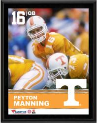 """Peyton Manning Tennessee Volunteers Sublimated 10.5"""" x 13"""" Plaque"""