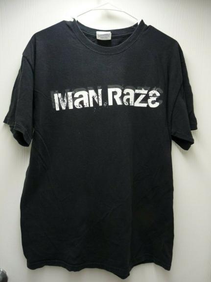 Manraze Phil Collen Of Def Leppard Band Concert Tour Large T Shirt SS2