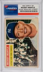 Mickey Mantle New York Yankees 1956 Topps #135 Card