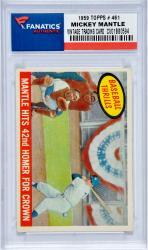 Mickey Mantle 1959 TOPPS # 461 Vintage Baseball Card