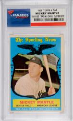 Mickey Mantle New York Yankees 1959 Topps #564 Card - Mounted Memories