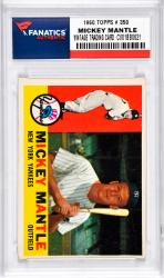 Mantle, Mickey (1960 Topps # 350) Card 1