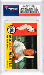 Mantle, Mickey (1960 Topps # 350) Card 2