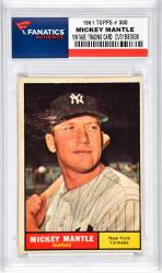 Mantle, Mickey (1961 Topps # 300) Card