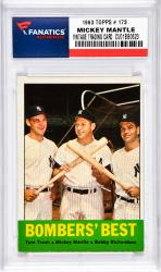 Mantle, Mickey (1963 Topps # 173) Card
