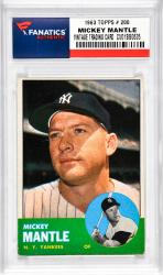 Mantle, Mickey (1963 Topps # 200) Card 1