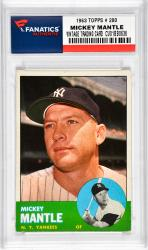 Mantle, Mickey (1963 Topps # 200) Card 2