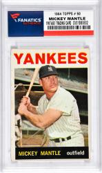 Mantle, Mickey (1964 Topps # 50) Card 1