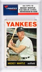 Mantle, Mickey (1964 Topps # 50) Card 3
