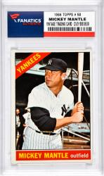 Mantle, Mickey (1966 Topps # 50) Card 1