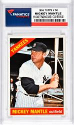 Mantle, Mickey (1966 Topps # 50) Card 2