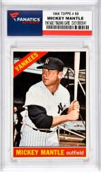 Mantle, Mickey (1966 Topps # 50) Card 3