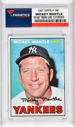 Mantle, Mickey (1967 Topps # 150) Card