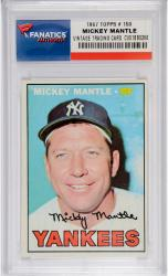 Mickey Mantle New York Yankees 1967 Topps #150 Card - Mounted Memories