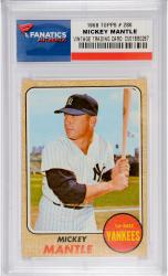 Mickey Mantle New York Yankees 1968 Topps #280 Card - Mounted Memories