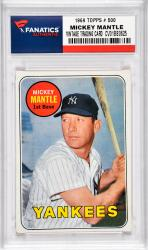 Mantle, Mickey (1969 Topps # 500) Card 1
