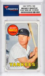 Mantle, Mickey (1969 Topps # 500) Card 2