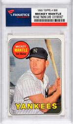 Mantle, Mickey (1969 Topps # 500) Card 3