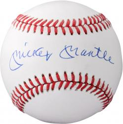 Mickey Mantle New York Yankees Autographed American League Baseball