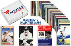 Mickey Mantle New York Yankees Collectible Lot of 15 MLB Trading Cards - Mounted Memories