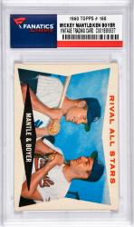 Mantle, Mickey/boyer, Ken (1960 Topps # 160) Card