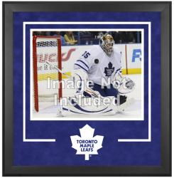 "Toronto Maple Leafs Deluxe 16"" x 20"" Horizontal Photograph Frame - Mounted Memories"