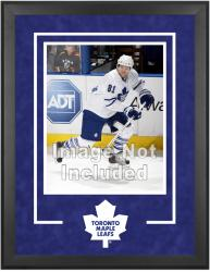 "Toronto Maple Leafs Deluxe 16"" x 20"" Vertical Photograph Frame - Mounted Memories"