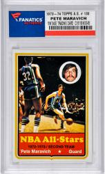 Pete Maravich Utah Jazz 1973-74 Topps All-Star #130 Card