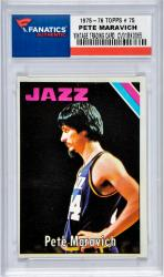 MARAVICH, PETE (1975-76 TOPPS # 75) CARD - Mounted Memories