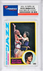 MARAVICH, PETE (1978-79 TOPPS # 80) CARD - Mounted Memories